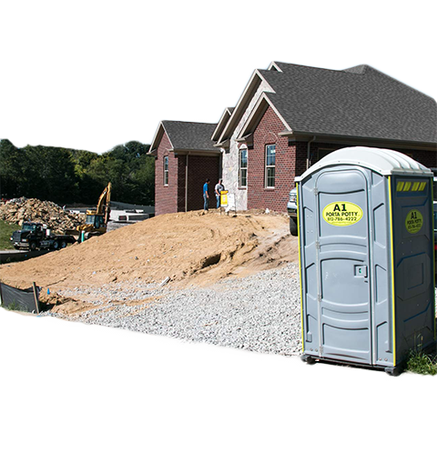 Construction site porta potties for rent louisville ky for Porta johns for rent