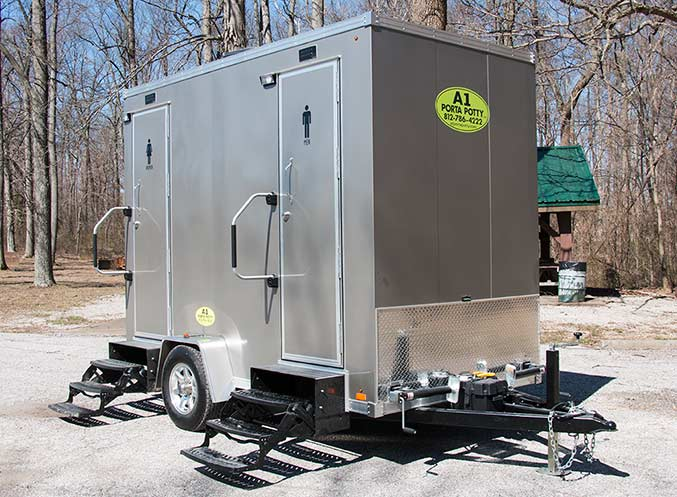 Portable Restroom Trailer Rental Louisville Ky A Porta Potty - Bathroom trailer rentals