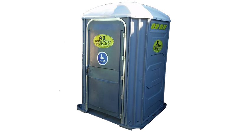 handicap porta potty