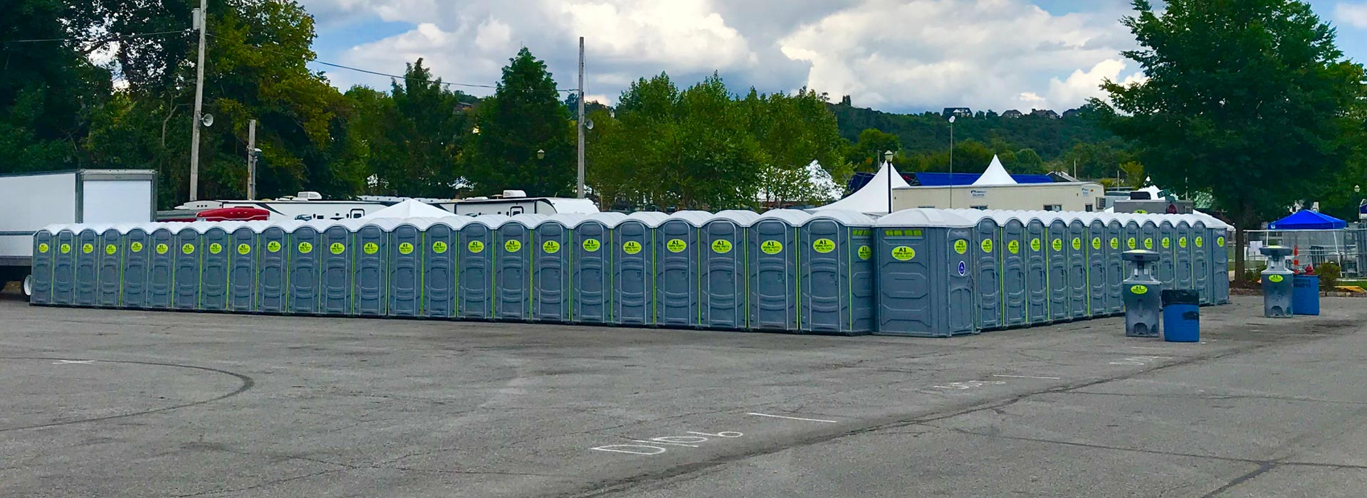 festival porta potties