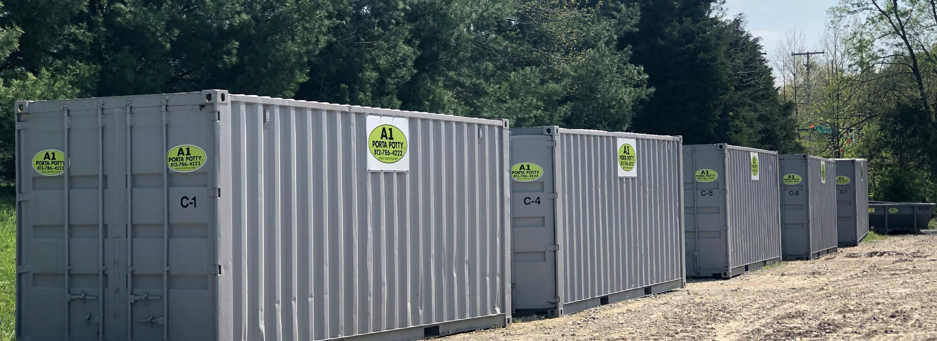 storage containers background